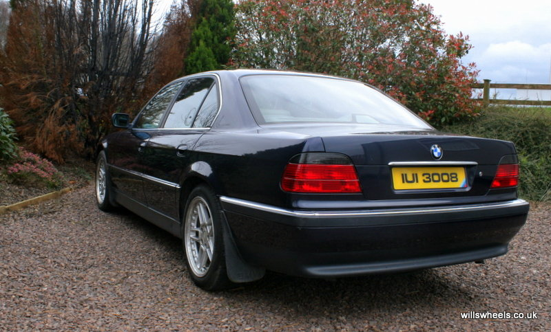 1996 BMW 728i LPG Orient Blue 129k For Sale (picture 3 of 6)