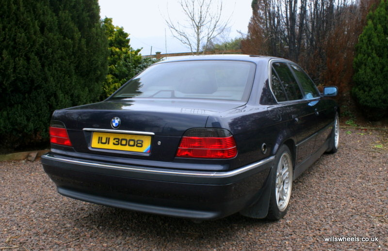 1996 BMW 728i LPG Orient Blue 129k For Sale (picture 4 of 6)