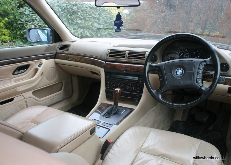 1996 BMW 728i LPG Orient Blue 129k For Sale (picture 5 of 6)