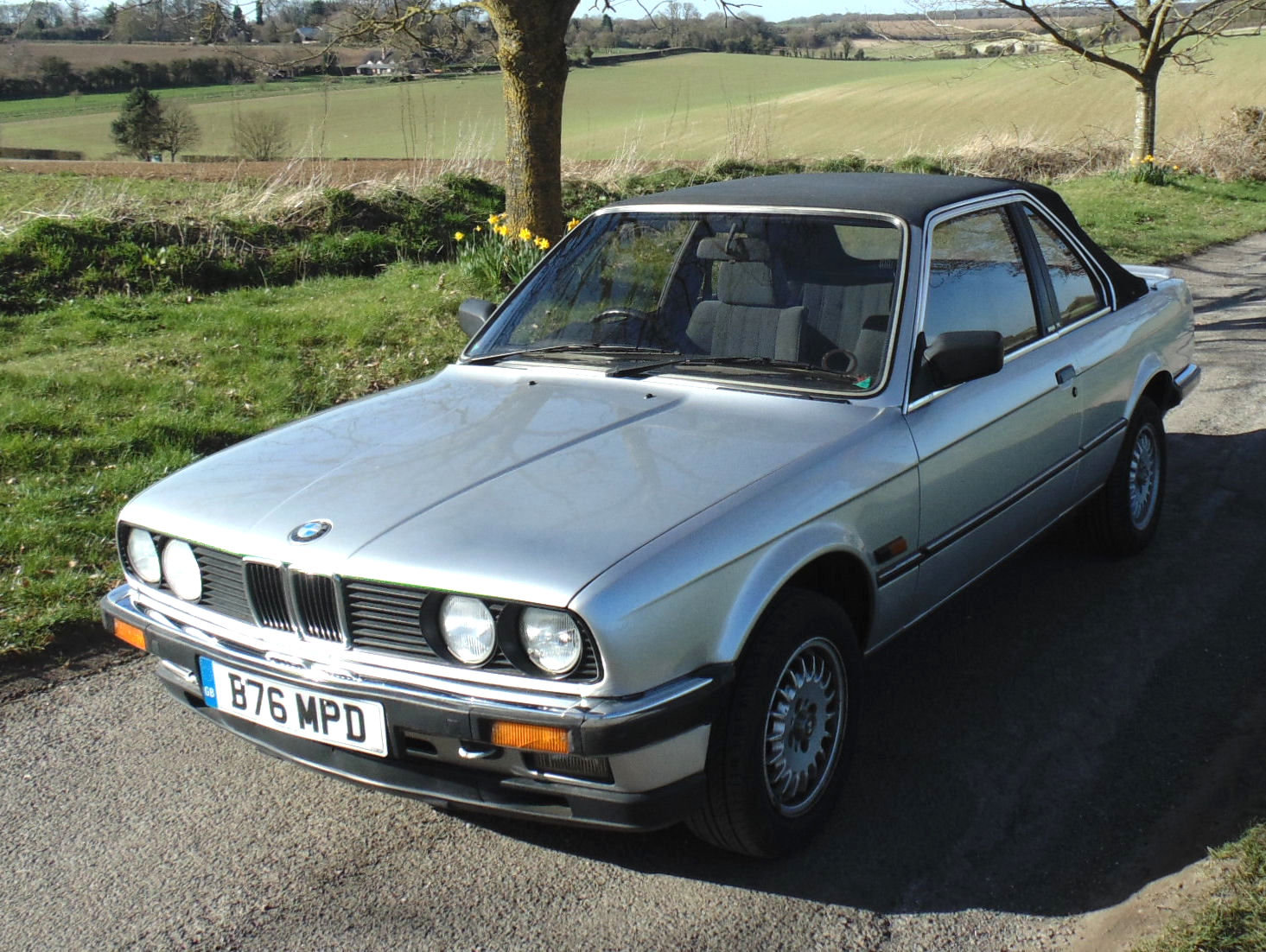 1985 Bmw 320i Baur Cabriolet For Sale Car And Classic