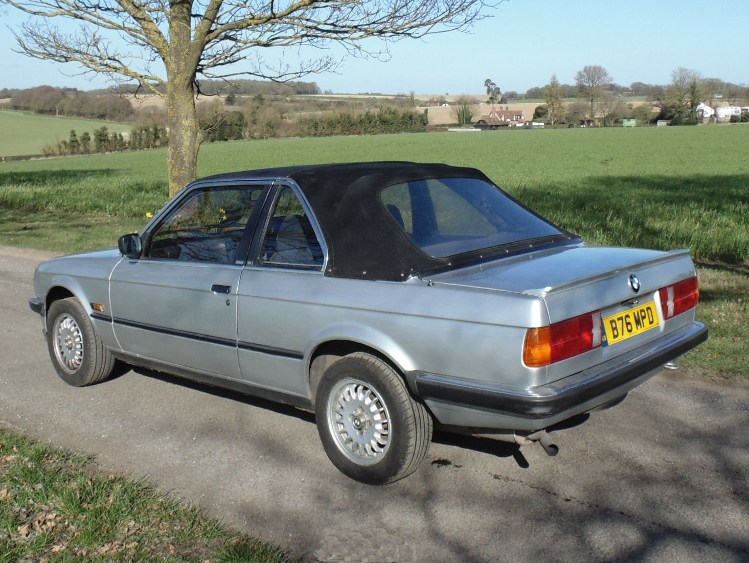 1985 BMW 320i Baur Cabriolet SOLD (picture 3 of 6)