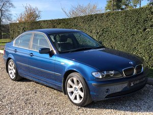 2001 BMW 316i SE **Low Miles, Sports Leather, MOT'd April 2020** SOLD