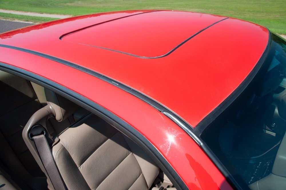 1991 BMW 850i = Six-speed Manual Clean Red 111k milles $30.9 For Sale (picture 6 of 6)