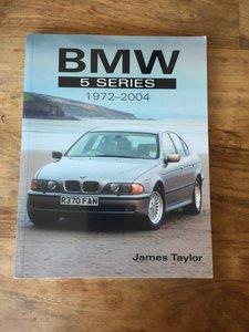 BMW 5 Series - James Taylor - PB - Rare