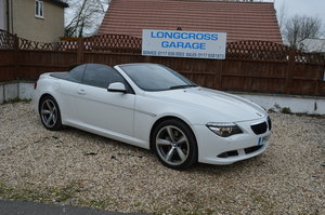 2010 BMW 6 Series 3.0 635d Sport CONVERTIBLE AUTO DIESEL SOLD