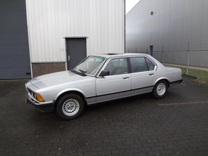 BMW 732i Manual Gearbox 1985