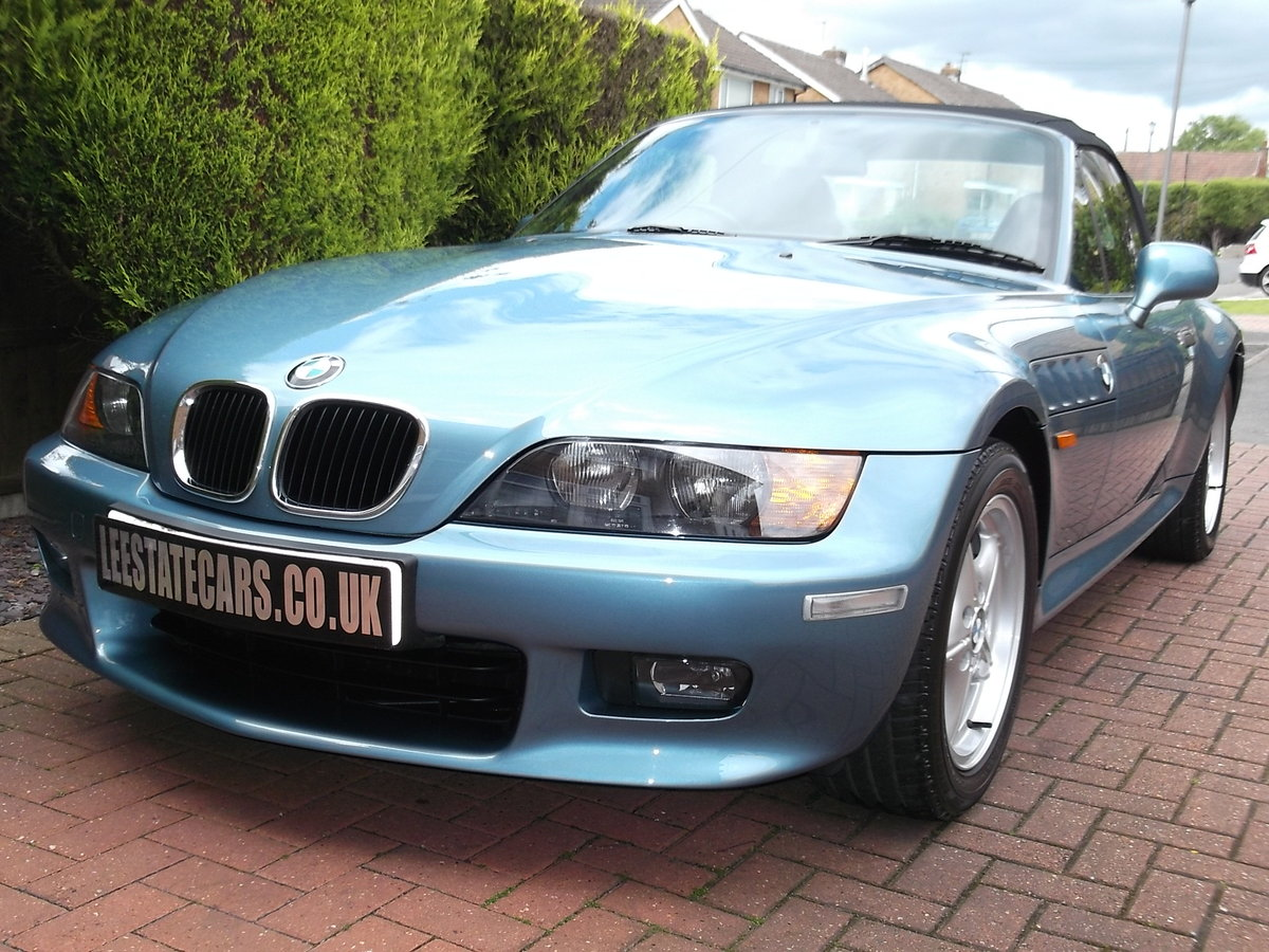 1999/T BMW Z3 2.8 * LOW MILES * 1 LADY OWNER For Sale (picture 1 of 6)