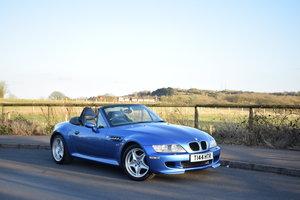 1999 T BMW Z3 M Roadster Estoril Blue 72k FSH For Sale