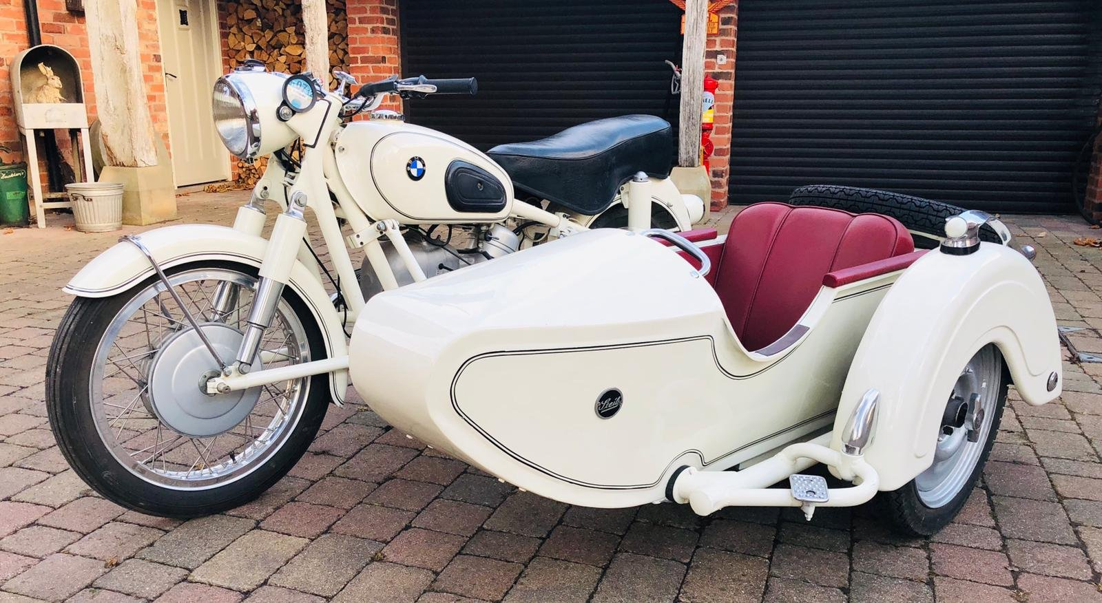 1964 BMW R60/2 E COMBINATION  For Sale (picture 1 of 6)