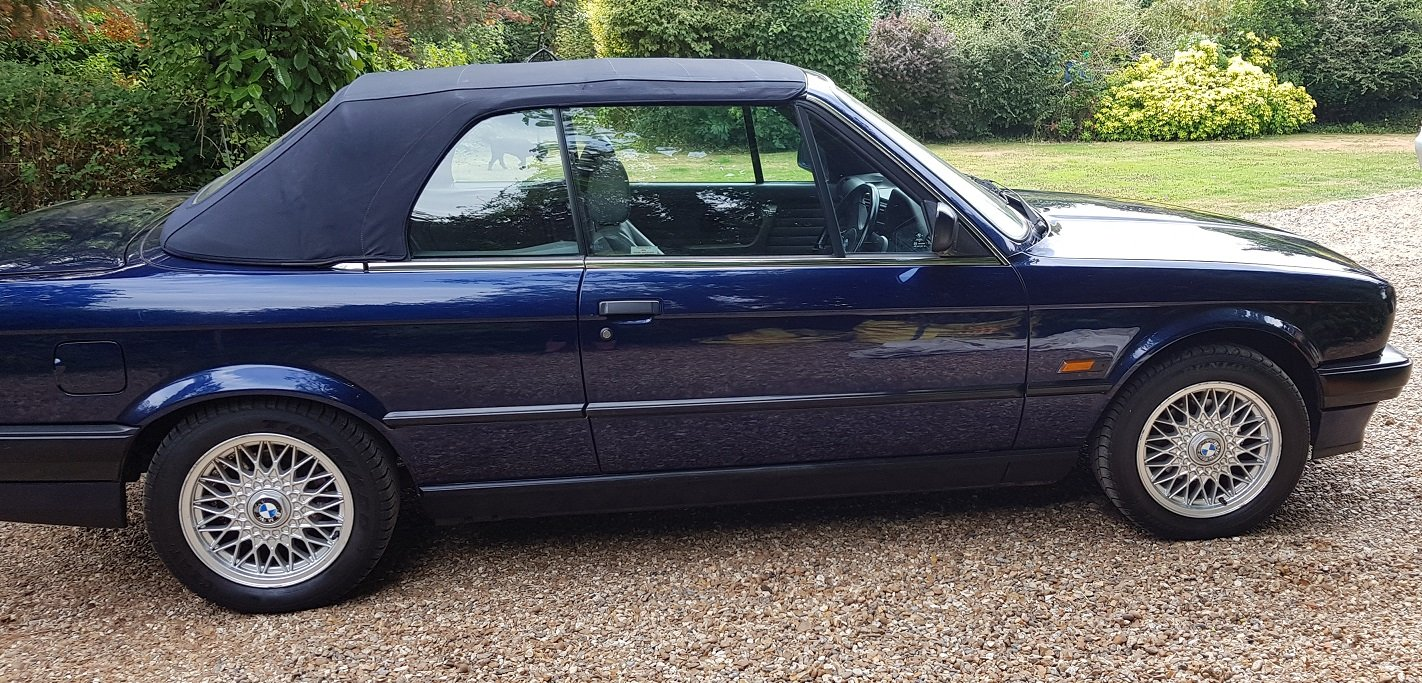 Rare 1993 K reg BMW  318i LUX Con-Full P.Hood! For Sale (picture 2 of 6)