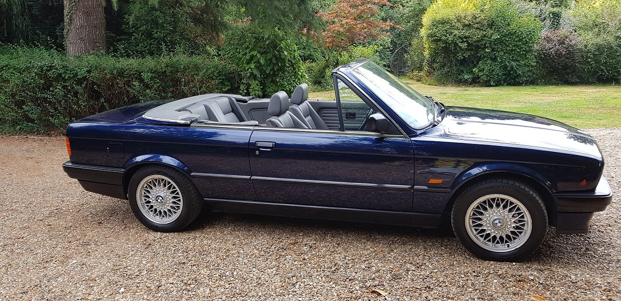 Rare 1993 K reg BMW  318i LUX Con-Full P.Hood! For Sale (picture 5 of 6)