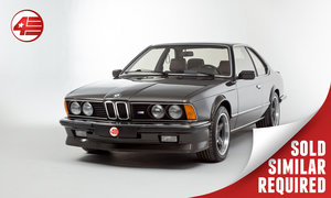 1986 BMW E24 M635 CSi /// German-supplied LHD /// 84k Miles SOLD