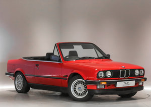 1990 Fantastic 1 Owner BMW 3 Series with Hard & Soft Roof For Sale