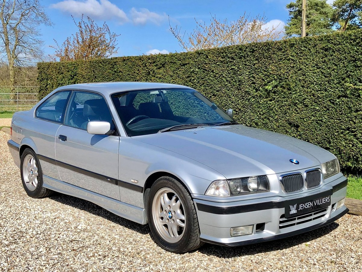 1997 BMW 323i M-Sport Manual **2 Owner E36 Coupe, Low Mileage** SOLD (picture 1 of 6)