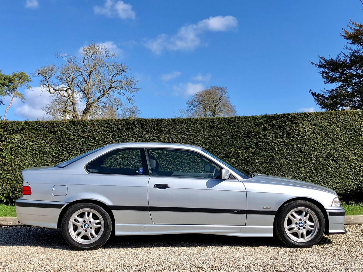 1997 BMW 323i M-Sport Manual **2 Owner E36 Coupe, Low Mileage** SOLD (picture 2 of 6)
