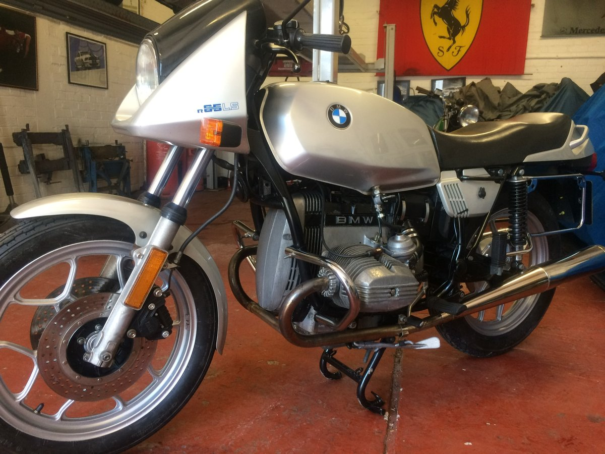 1987 BMW R65 LS SOLD (picture 1 of 6)