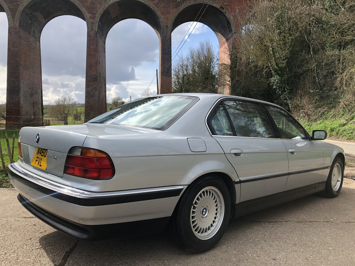 1996 BMW 750iL V12 35,000 Miles For Sale (picture 2 of 6)