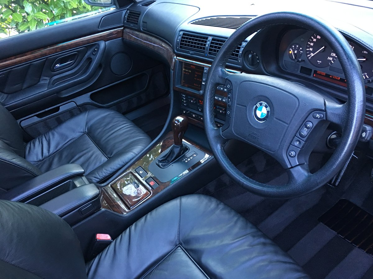 1996 BMW 750iL V12 35,000 Miles For Sale (picture 4 of 6)