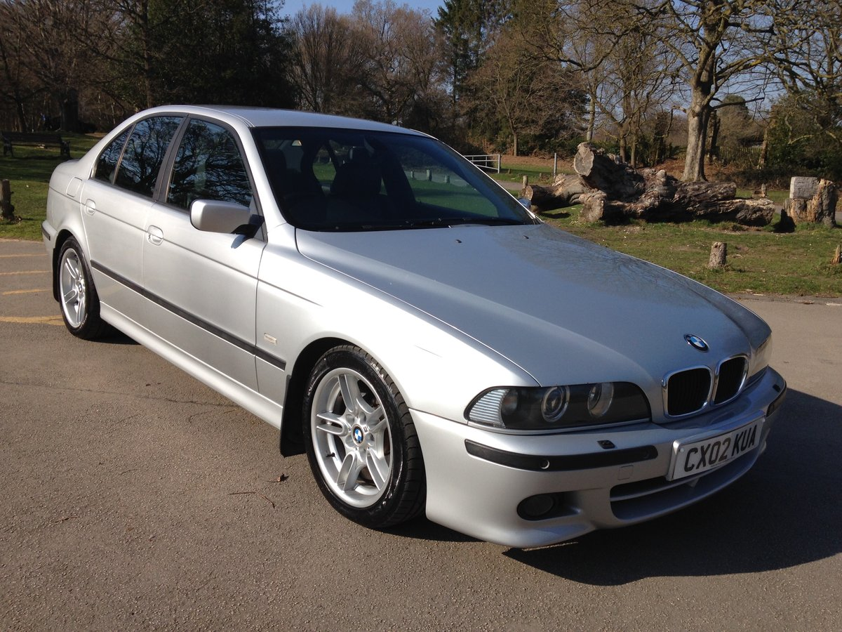 2002 BMW 530d M-SPORT E39 AUTO LOW MILEAGE STUNNING  SOLD (picture 1 of 6)