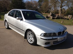 2002 BMW 530d M-SPORT E39 AUTO LOW MILEAGE STUNNING  SOLD