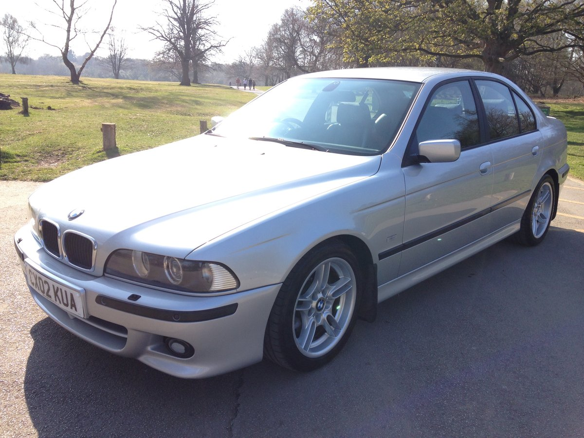 2002 BMW 530d M-SPORT E39 AUTO LOW MILEAGE STUNNING  SOLD (picture 2 of 6)