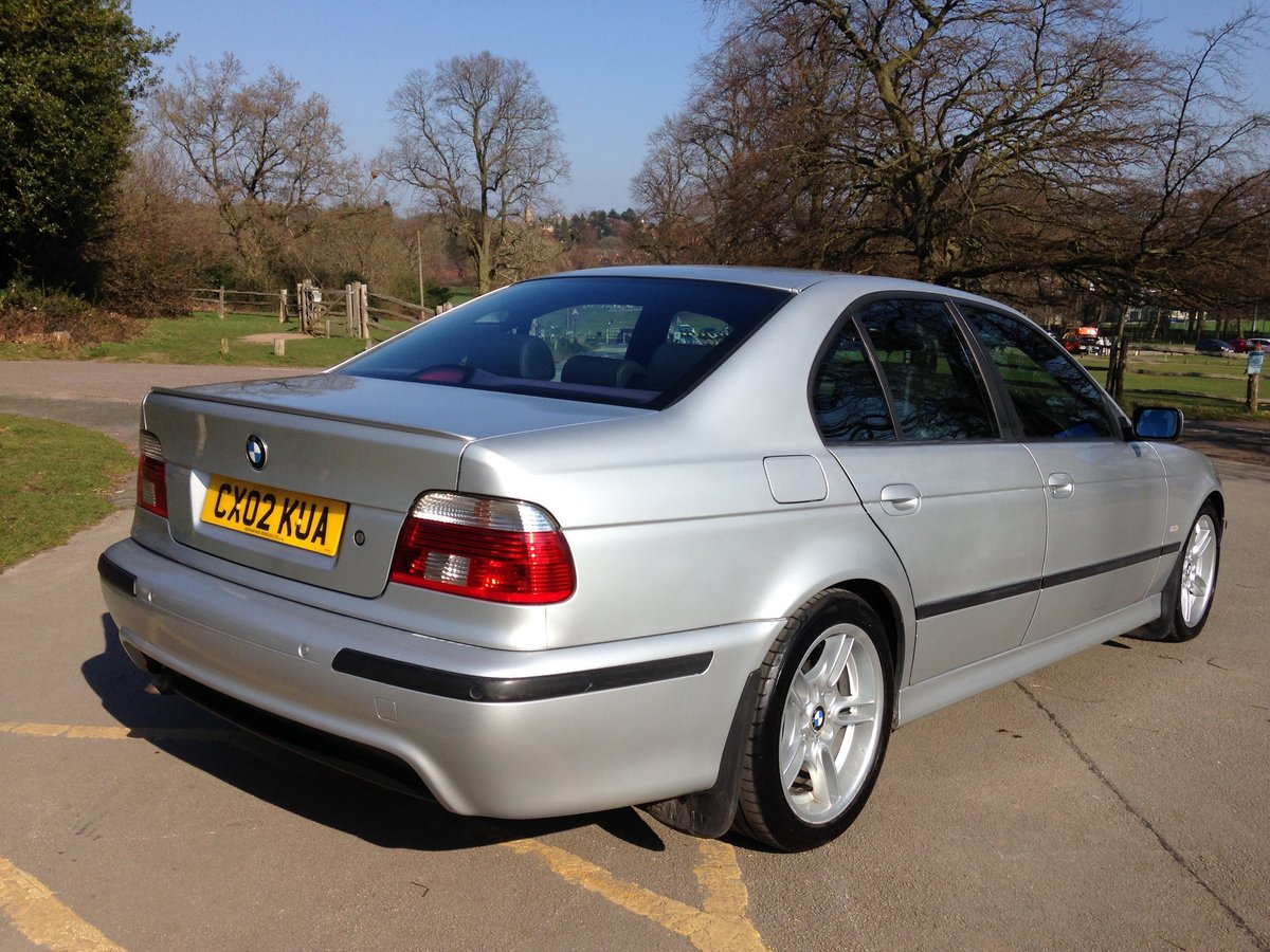 2002 BMW 530d M-SPORT E39 AUTO LOW MILEAGE STUNNING  SOLD (picture 3 of 6)