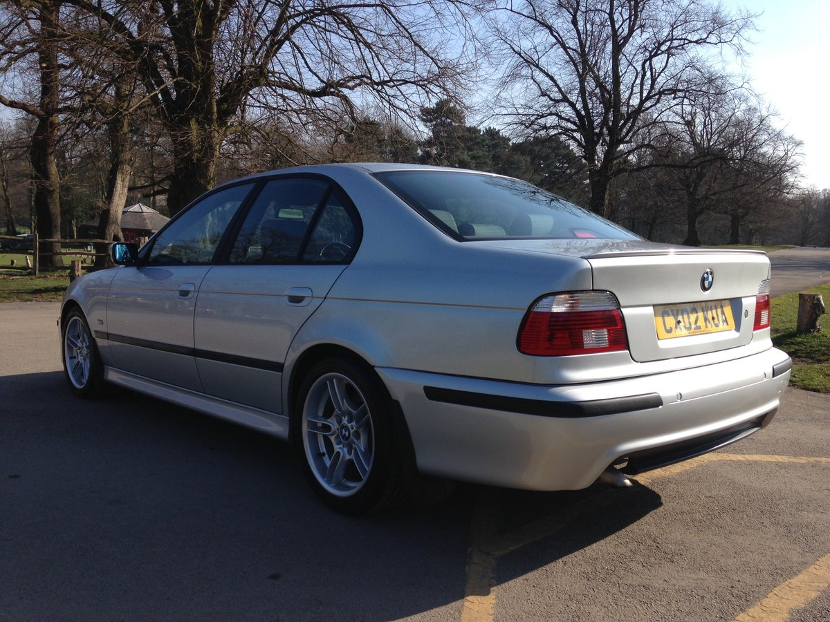 2002 BMW 530d M-SPORT E39 AUTO LOW MILEAGE STUNNING  SOLD (picture 4 of 6)