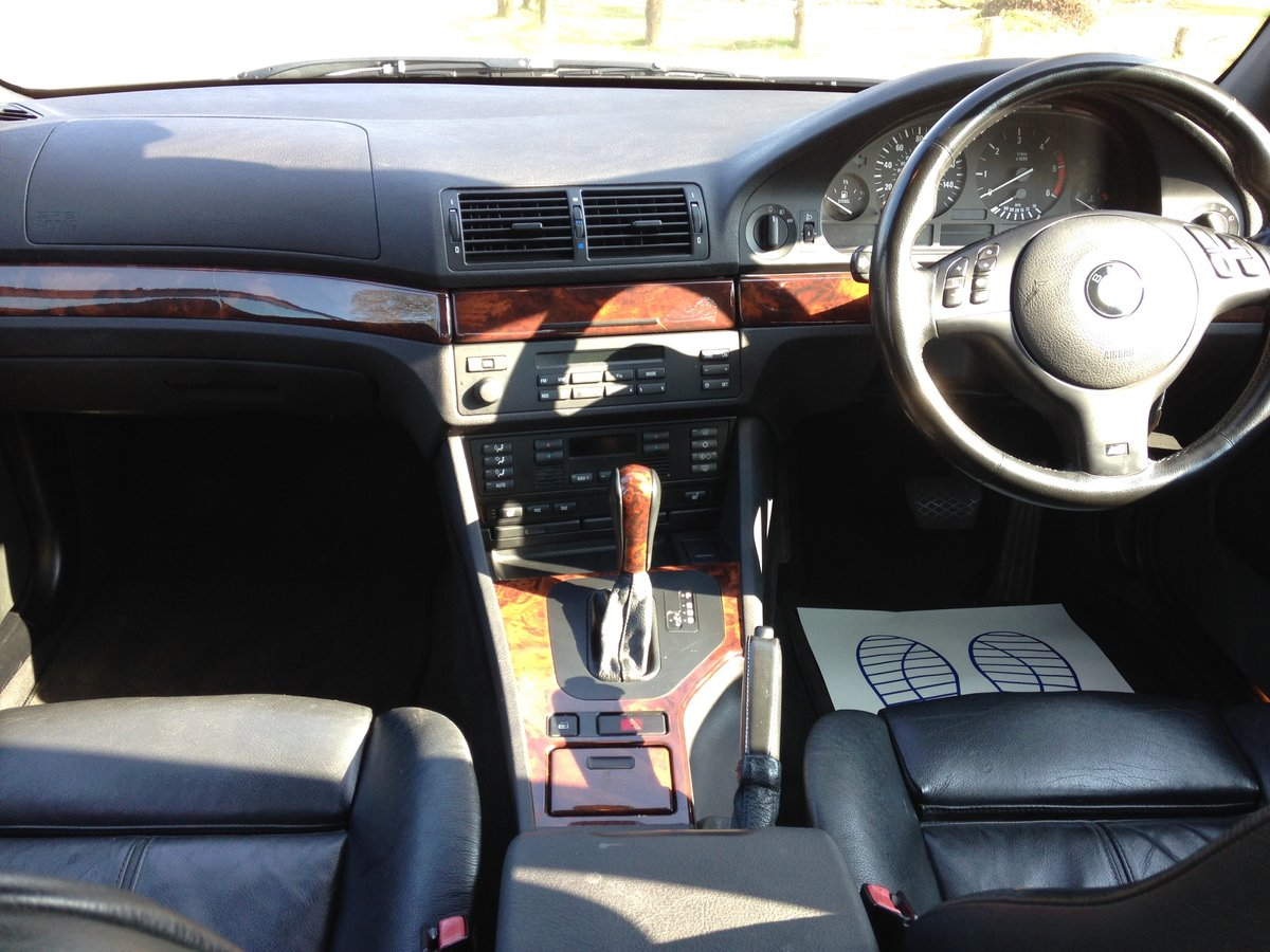 2002 BMW 530d M-SPORT E39 AUTO LOW MILEAGE STUNNING  SOLD (picture 5 of 6)