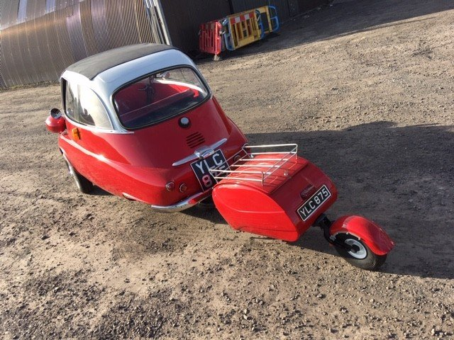 1958 BMW Isetta Bubble Car at Morris Leslie Auction 25th May SOLD by Auction (picture 2 of 6)