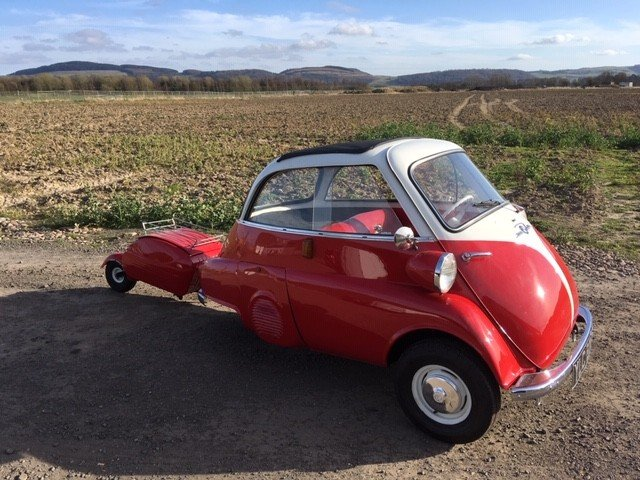 1958 BMW Isetta Bubble Car at Morris Leslie Auction 25th May SOLD by Auction (picture 3 of 6)