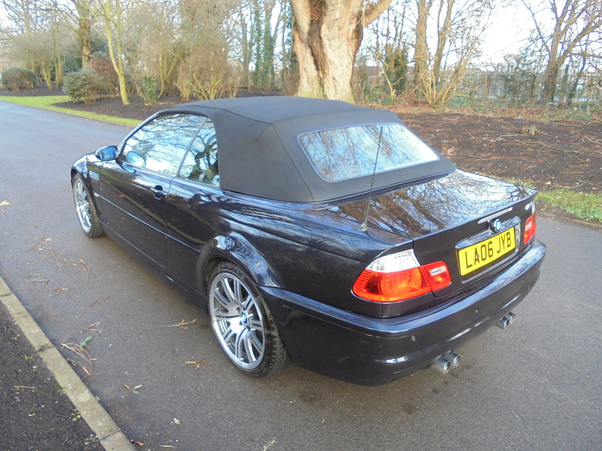 COMPLETELY OUTSTANDING 2006 BMW M3 SMG CONVERTIBLE For Sale (picture 3 of 6)