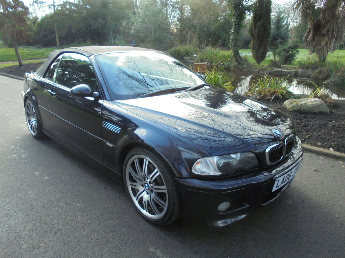 COMPLETELY OUTSTANDING 2006 BMW M3 SMG CONVERTIBLE For Sale (picture 1 of 6)