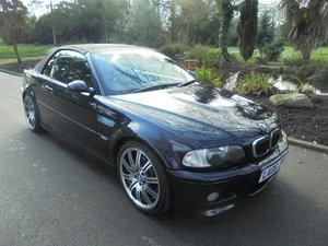 COMPLETELY OUTSTANDING 2006 BMW M3 SMG CONVERTIBLE