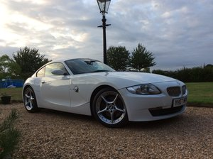 2007 BMW Z4 3.0 litre Si Sports Coupe 6 Speed Manual For Sale
