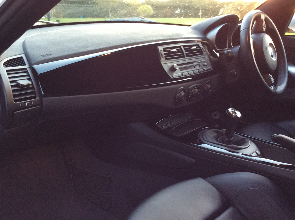 2007 BMW Z4 3.0 litre Si Sports Coupe 6 Speed Manual For Sale (picture 6 of 6)