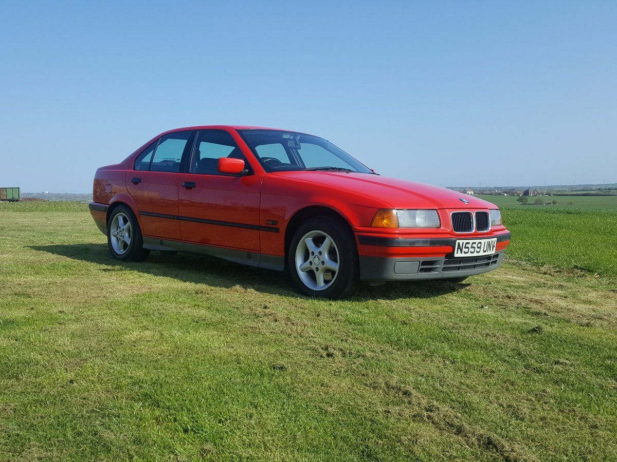 BMW 318i 5 speed Manual E36 1996 For Sale (picture 1 of 6)