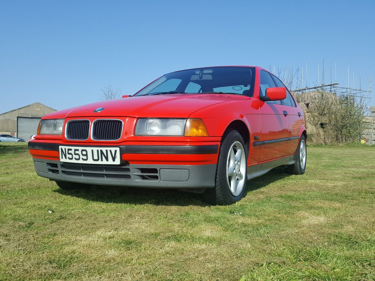 BMW 318i 5 speed Manual E36 1996 For Sale (picture 2 of 6)