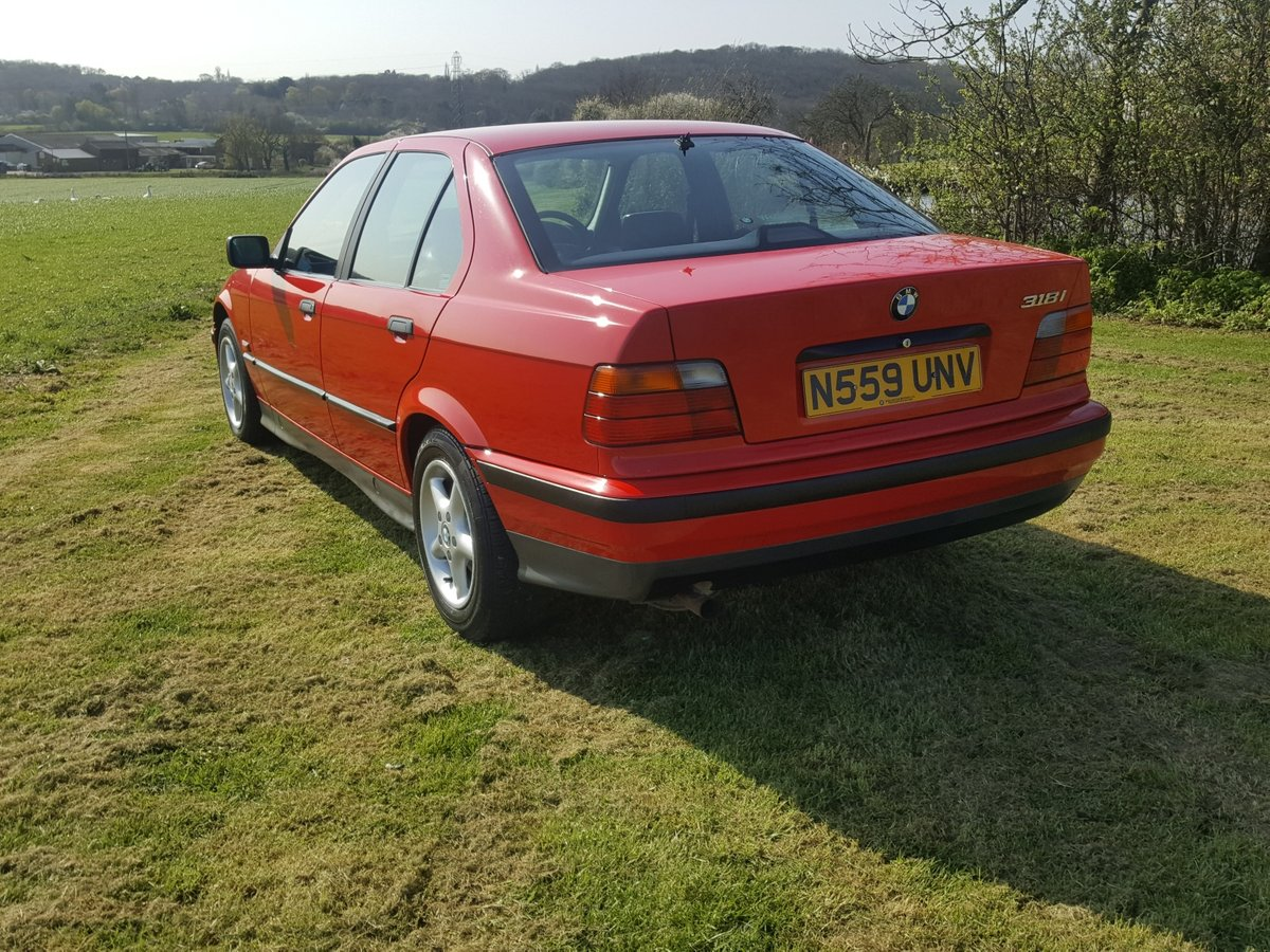 BMW 318i 5 speed Manual E36 1996 For Sale (picture 3 of 6)