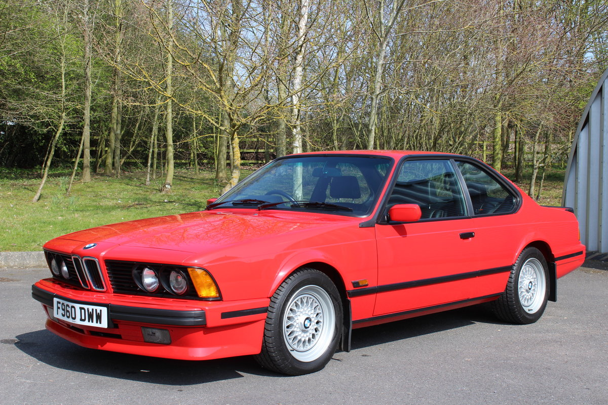 1989 BMW 635 CSi AUTO – MOTORSPORT EDITION For Sale (picture 1 of 6)