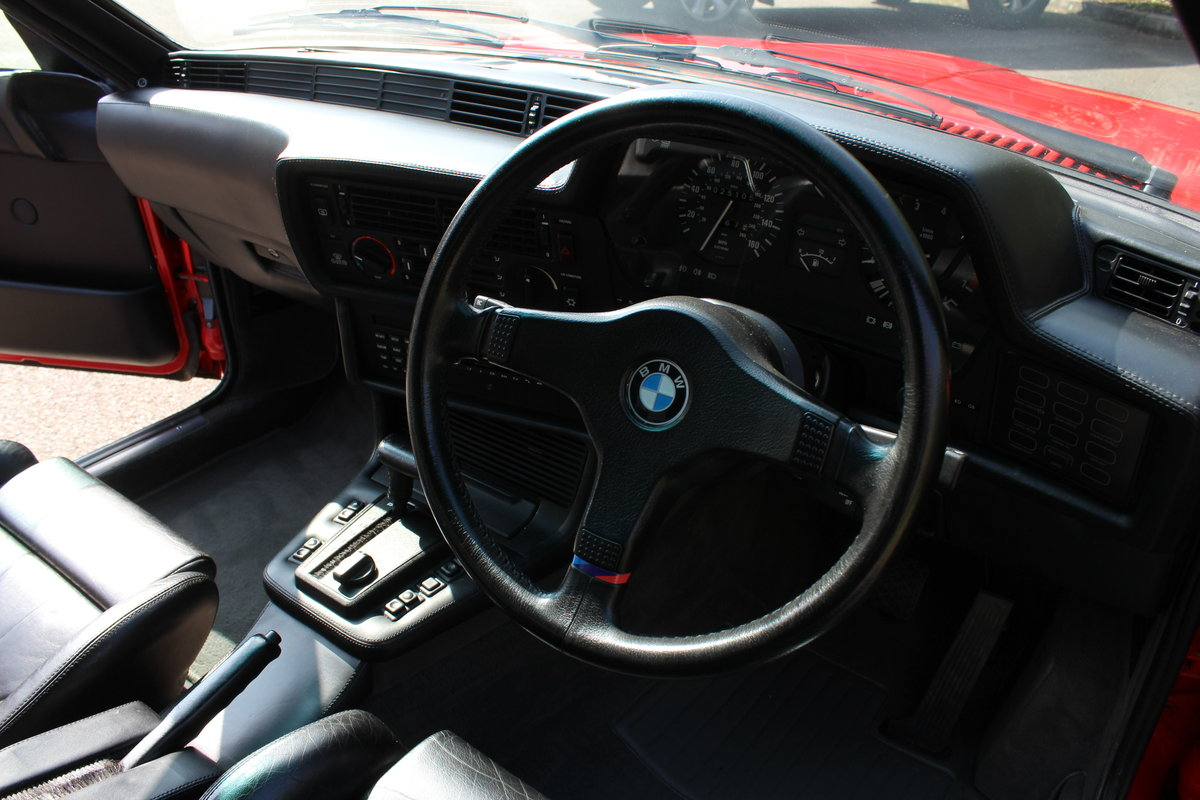 1989 BMW 635 CSi AUTO – MOTORSPORT EDITION For Sale (picture 4 of 6)