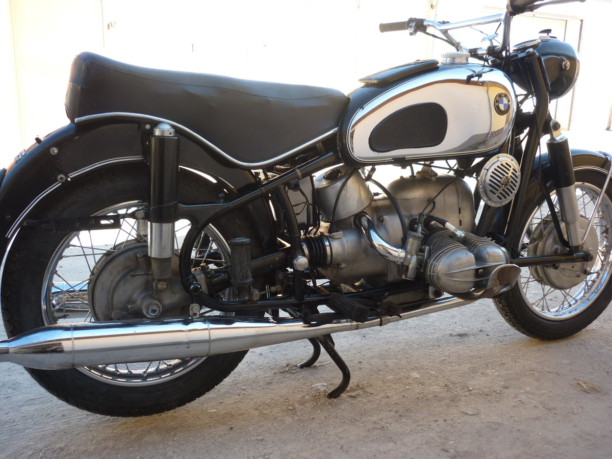 1966 BMW R69S matching numbers For Sale (picture 6 of 6)