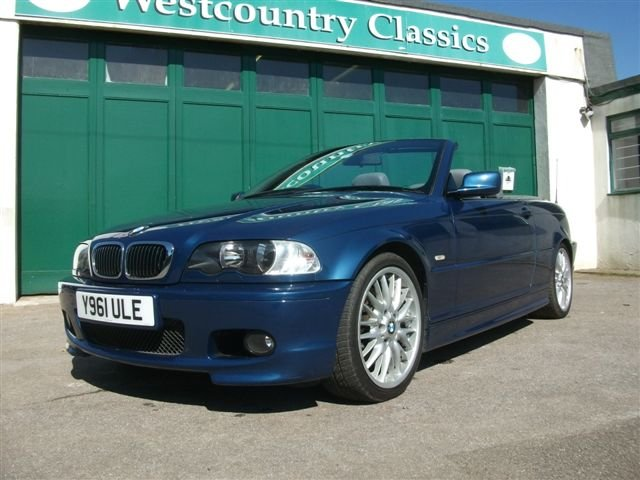 2001 BMW 330Ci Convertible, 68k, Lovely car SOLD (picture 1 of 6)