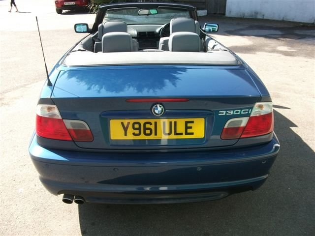 2001 BMW 330Ci Convertible, 68k, Lovely car SOLD (picture 3 of 6)
