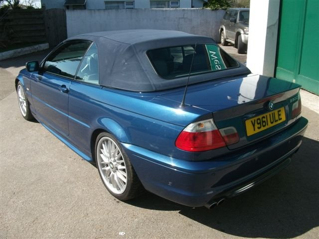 2001 BMW 330Ci Convertible, 68k, Lovely car SOLD (picture 6 of 6)