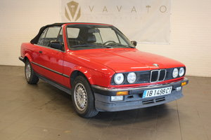 BMW 325i convertible, 1987 For Sale by Auction