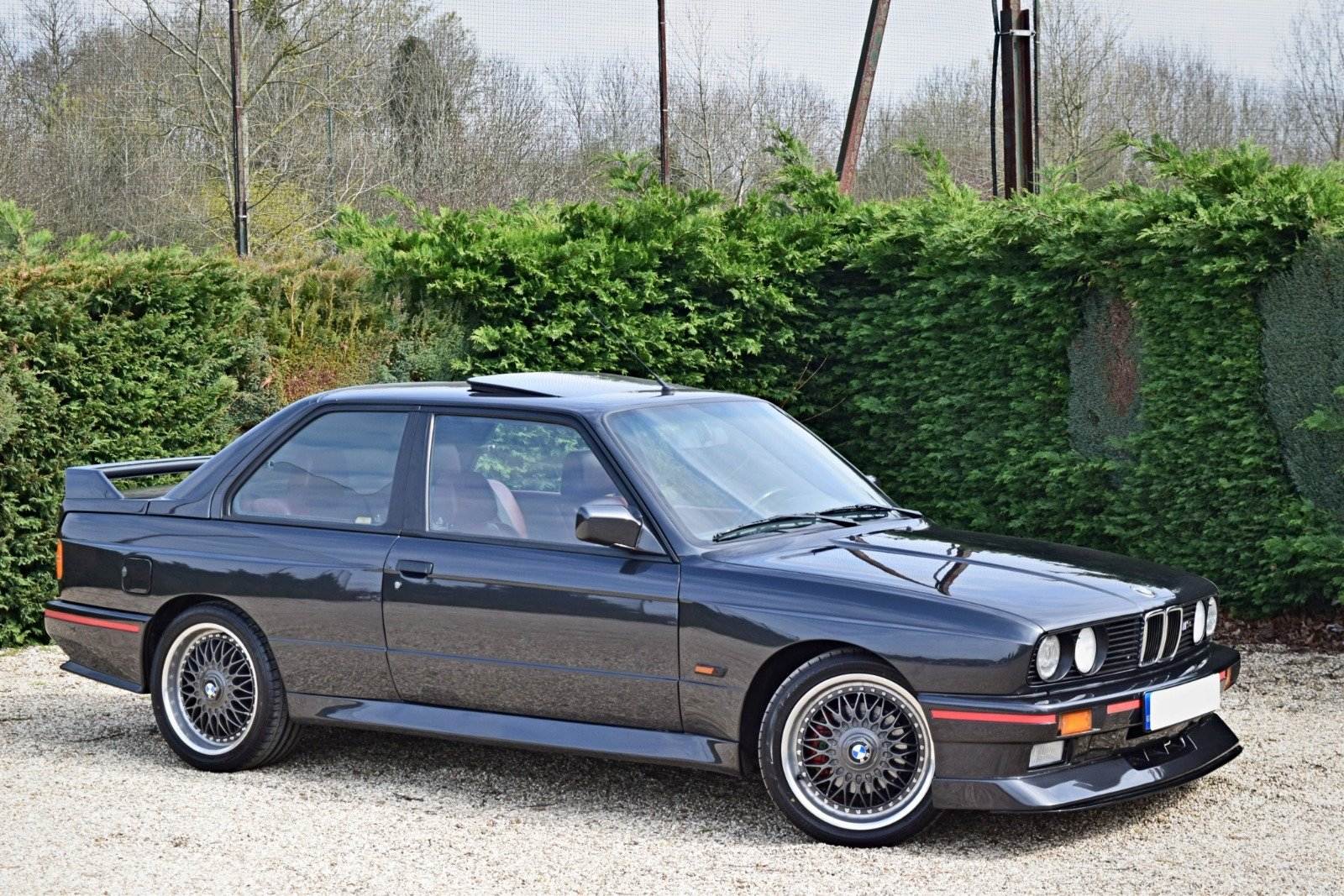 BMW M3 E30 2.3 PETROL MANUAL 1992/K BLACK For Sale (picture 1 of 6)
