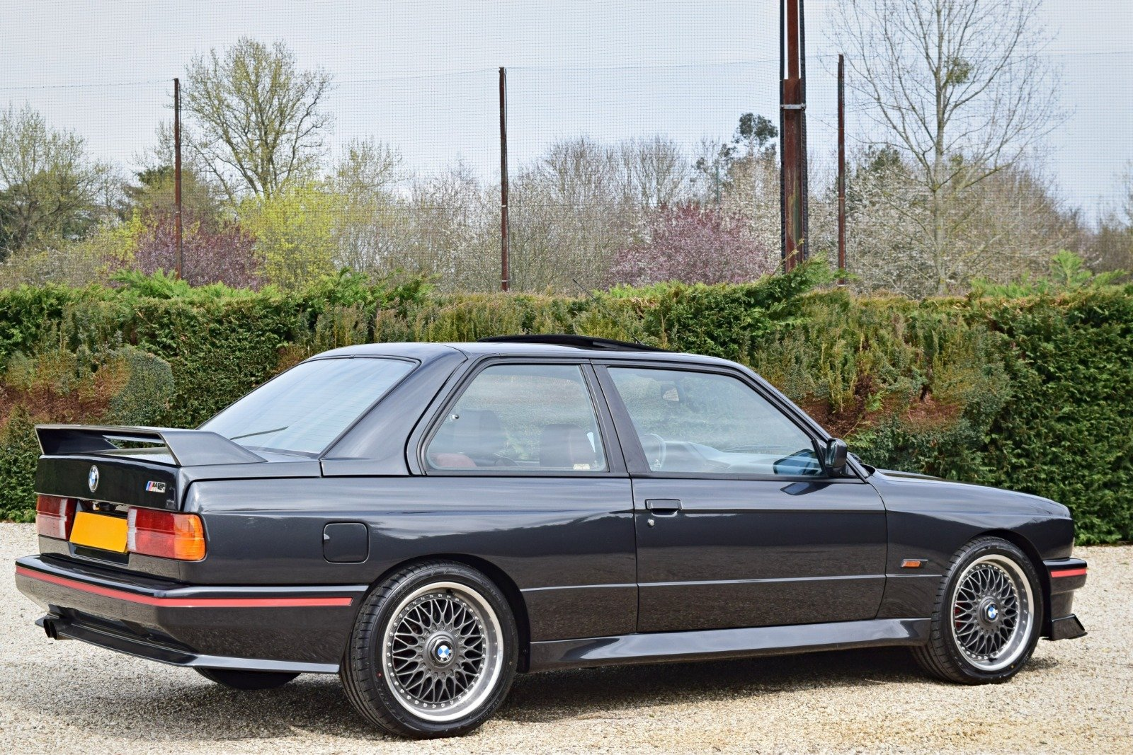 BMW M3 E30 2.3 PETROL MANUAL 1992/K BLACK For Sale (picture 5 of 6)
