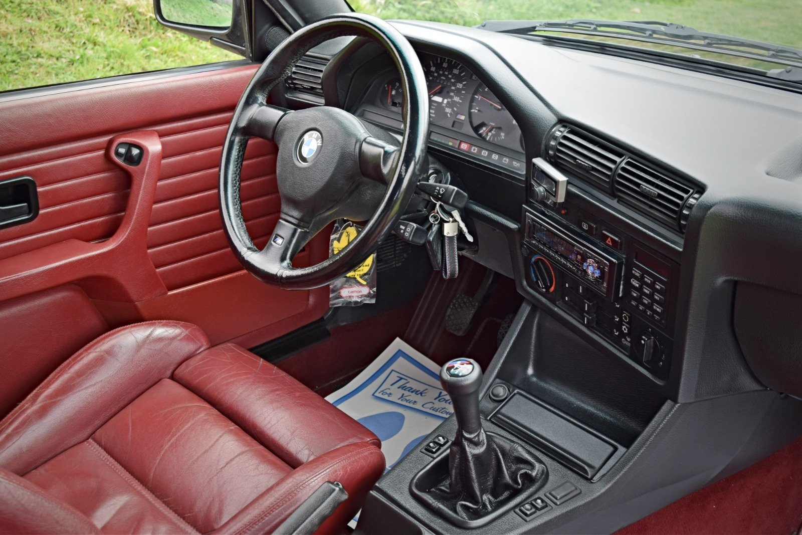 BMW M3 E30 2.3 PETROL MANUAL 1992/K BLACK For Sale (picture 6 of 6)
