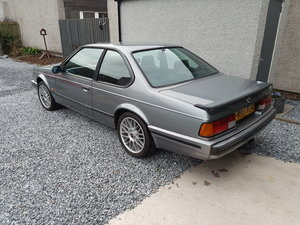 1989 BMW 635 csi  E24 Highline