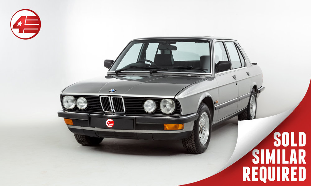 1987 BMW E25 525e /// 3 Owners and Just 48k Miles SOLD (picture 1 of 2)